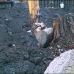 Excavation of Lead-Contaminated Soils